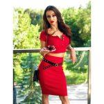 isabelle-bawelniany-czerwony-komplet-damski-bluzeczka-i-spodniczka-olowkowa (4)