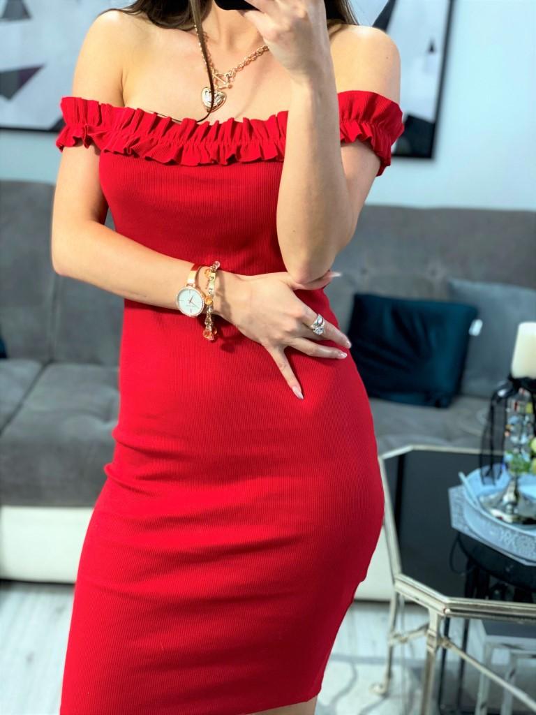 sukienki czerwone