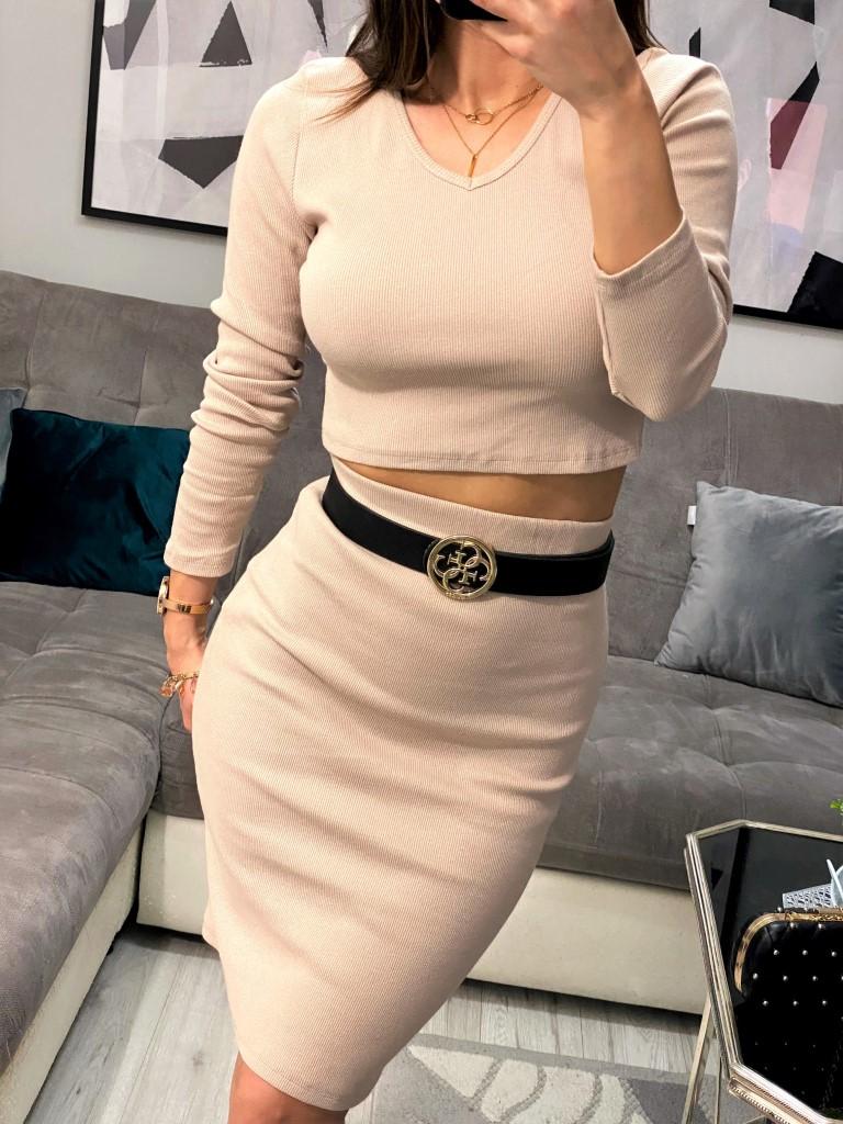komplet damski elegancki