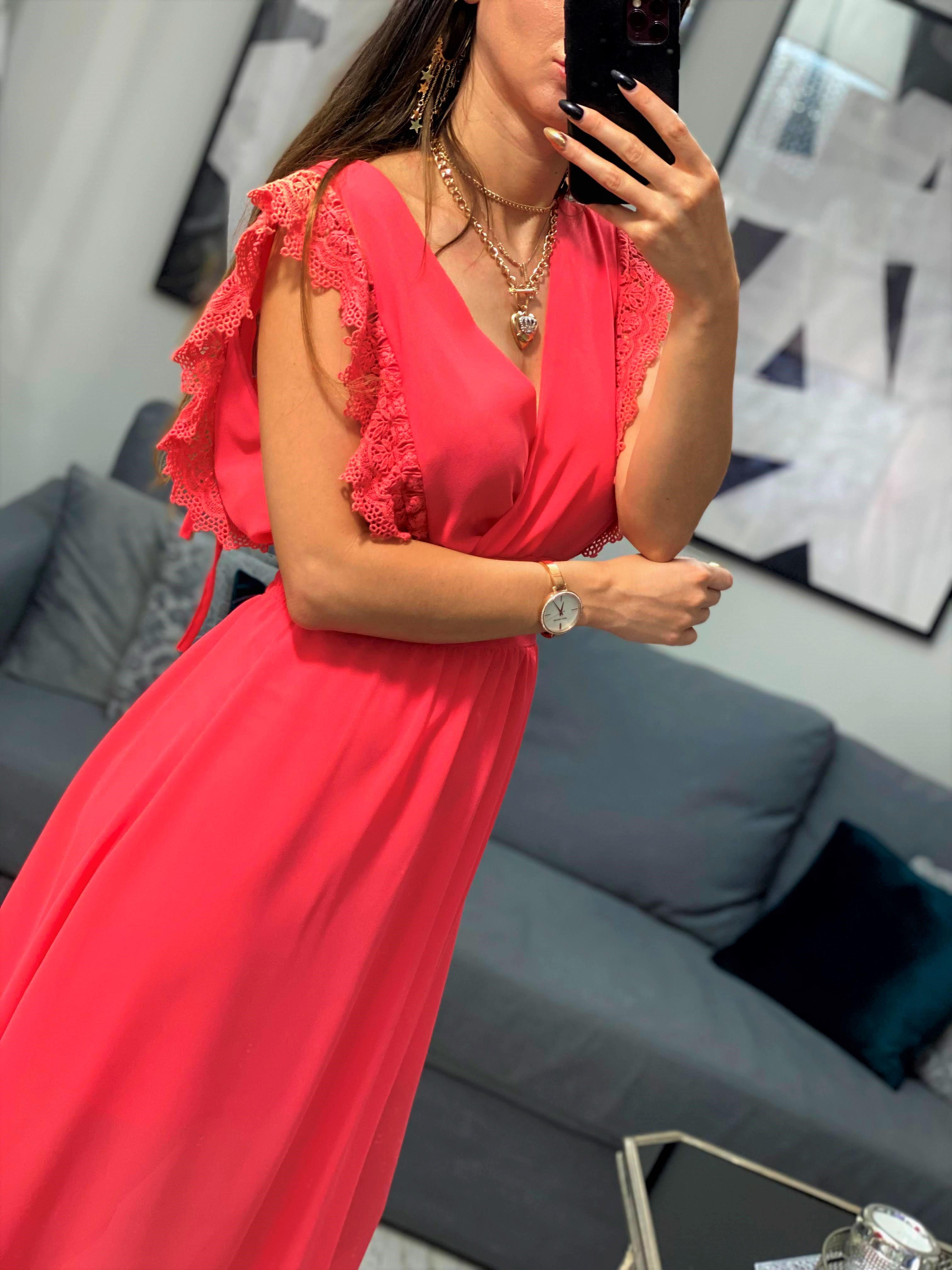 sukienka koktajlowa midi