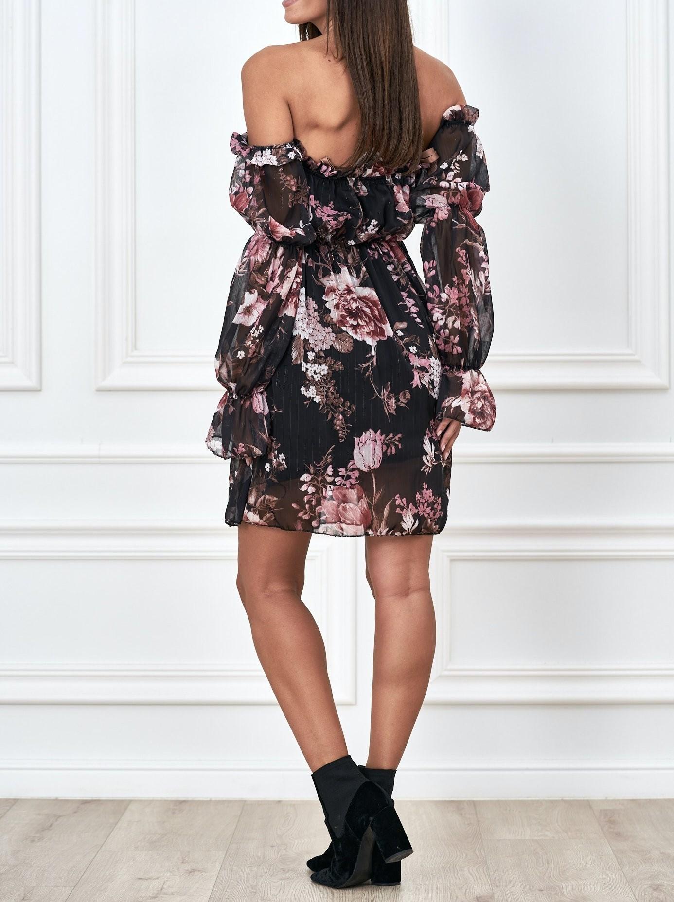 sukienki hiszpanki na jesien