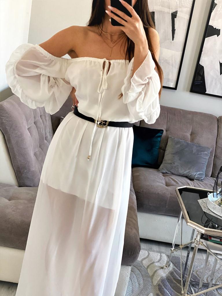 sukienka hiszpanka maxi