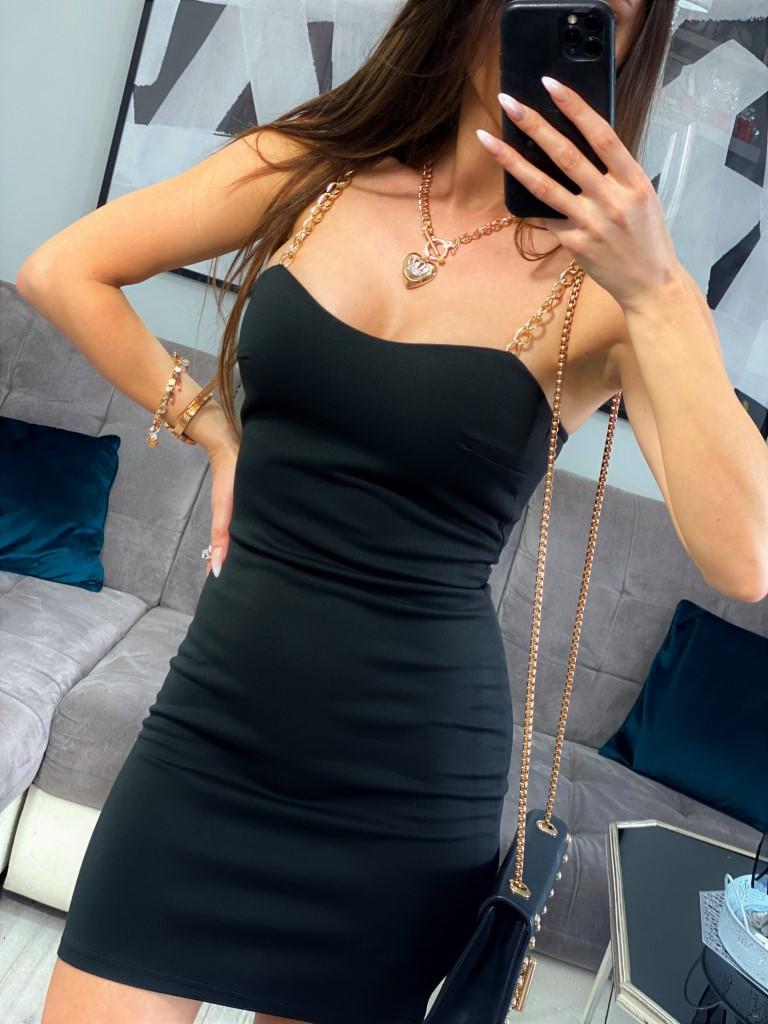 sukienki czarne eleganckie