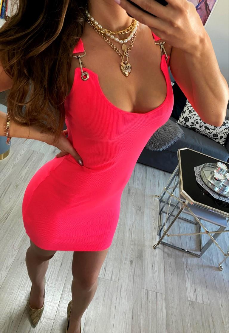 sukienki prążkowane