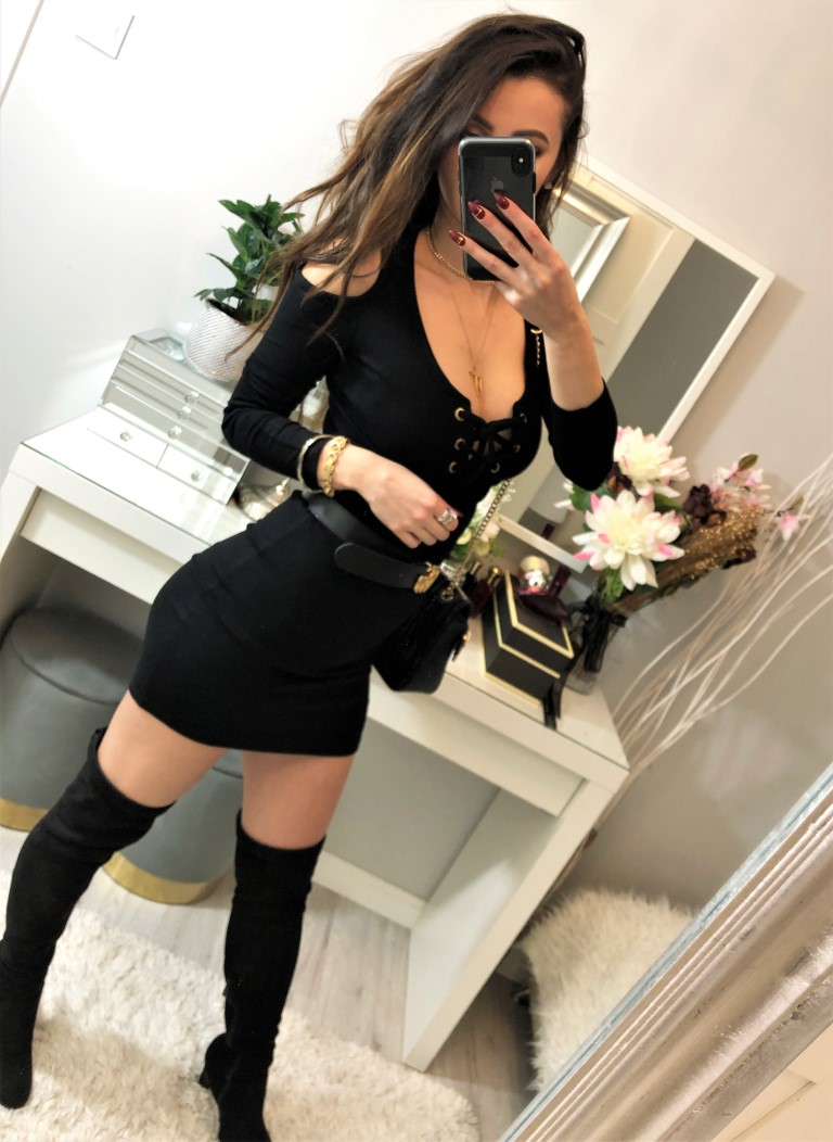 czarne sukienki 2021